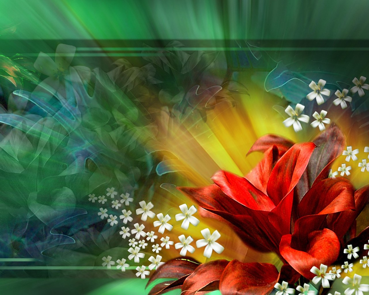 Wallpapers Download Flowers Pattern