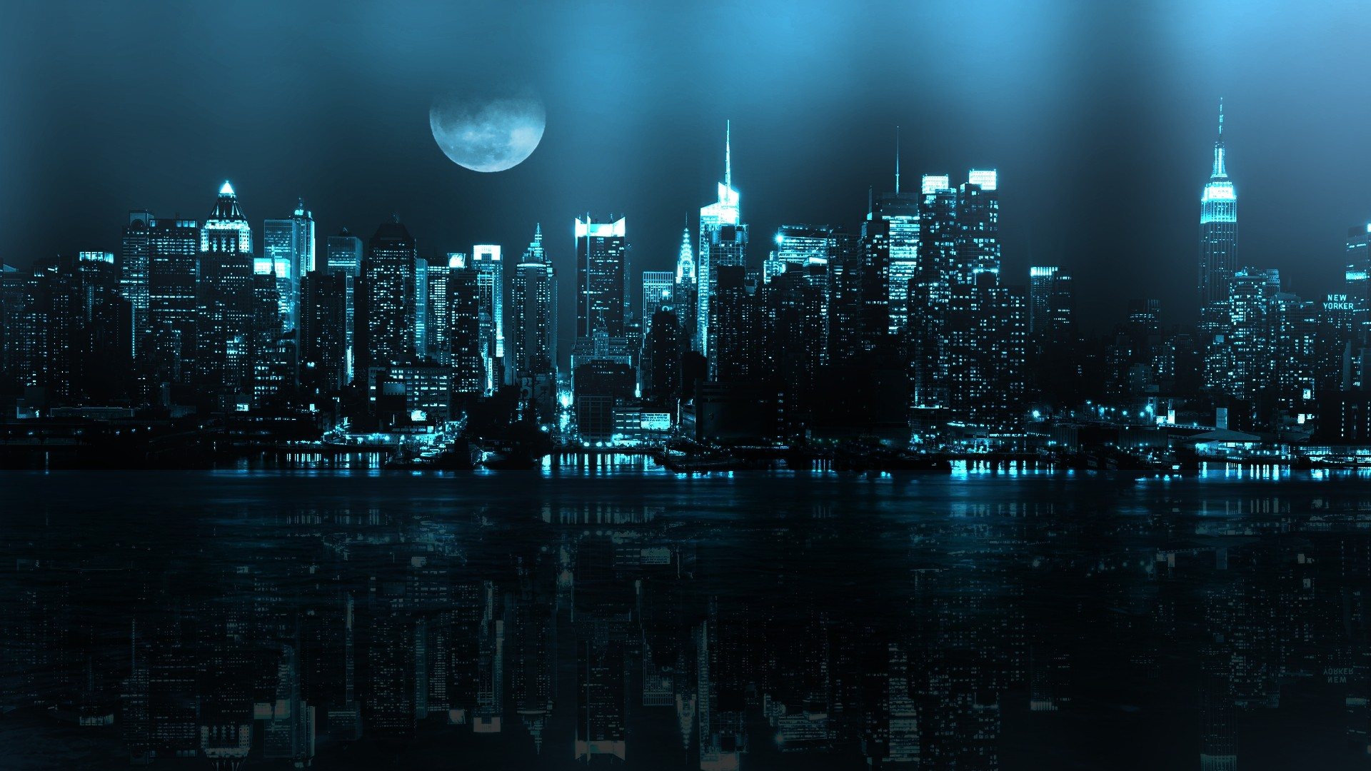 dark city desktop backgrounds