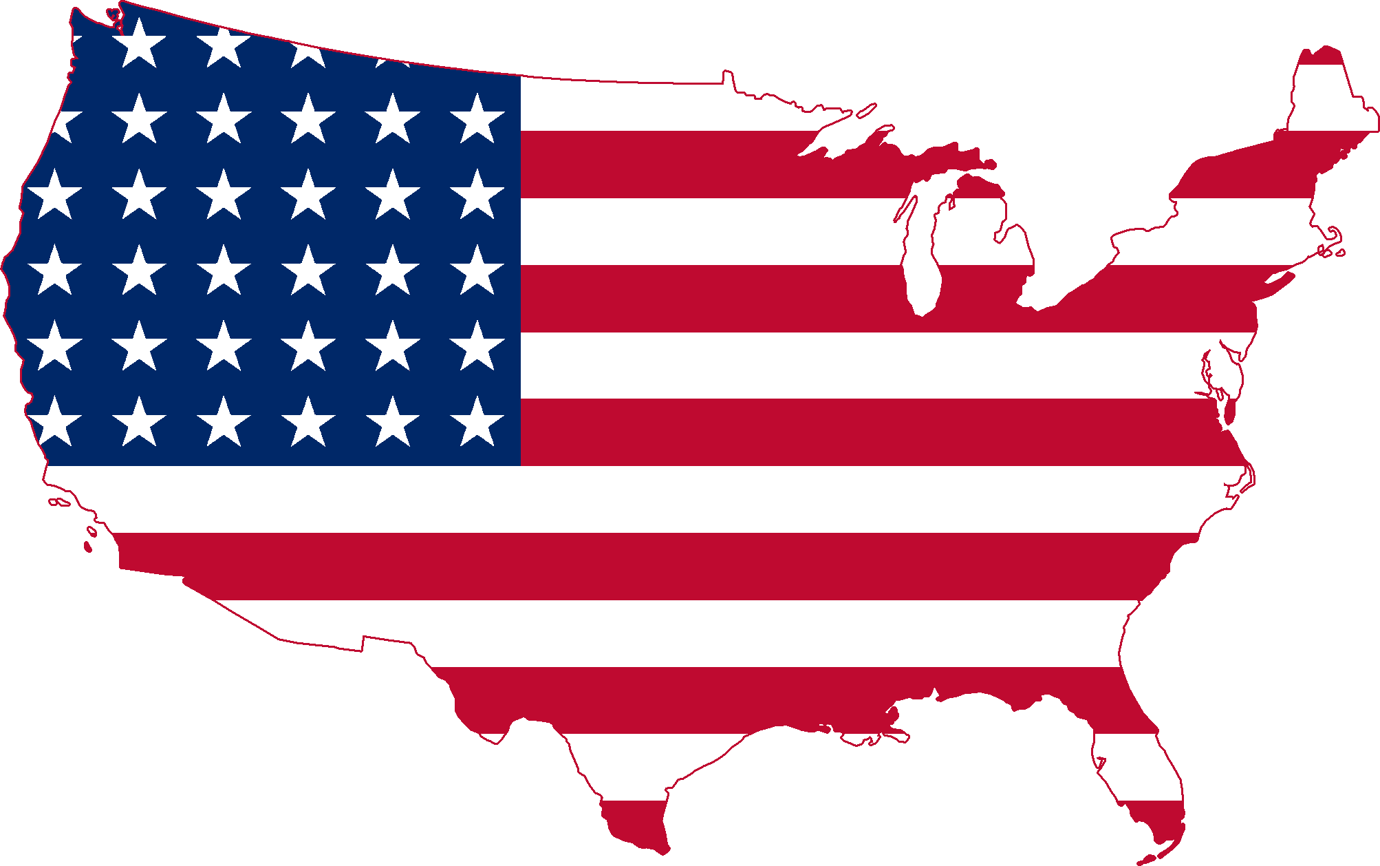 United States of America Flag 1810.64 Kb