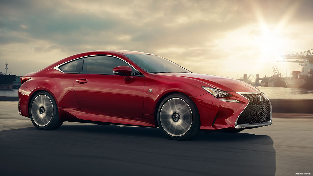 Crimson Lexus Side Look 453.01 Kb