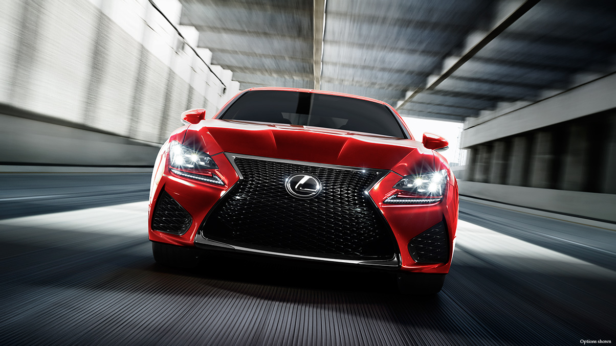 Red Lexus Front Look 453.01 Kb