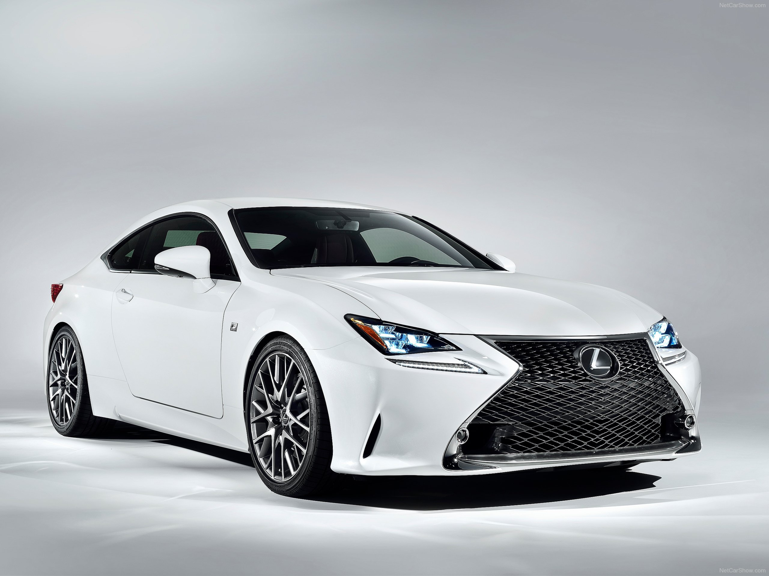 White Lexus Front Look