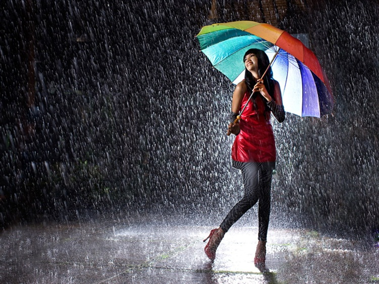 Pictures of a Lady in the Rain 80.6 Kb