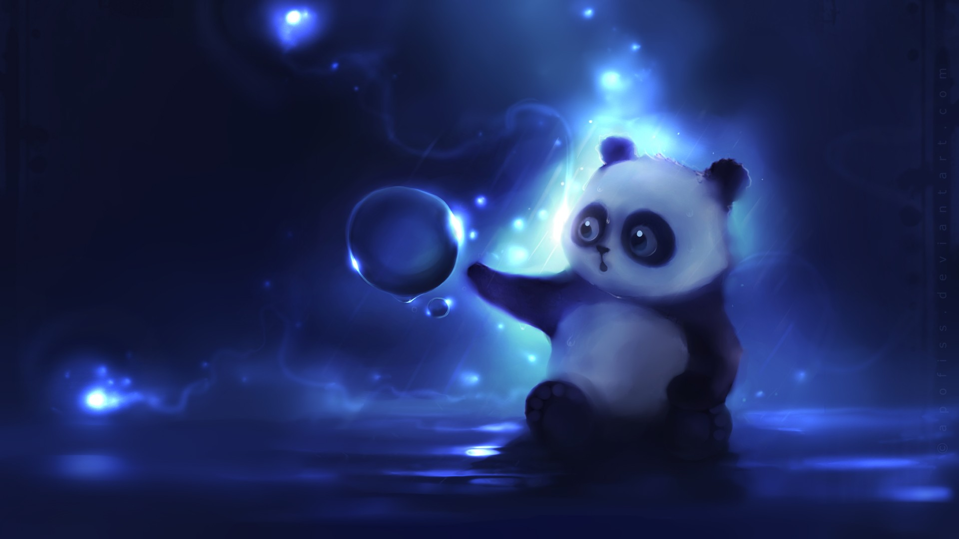 Cartoon Panda Wallpapers 421.09 Kb