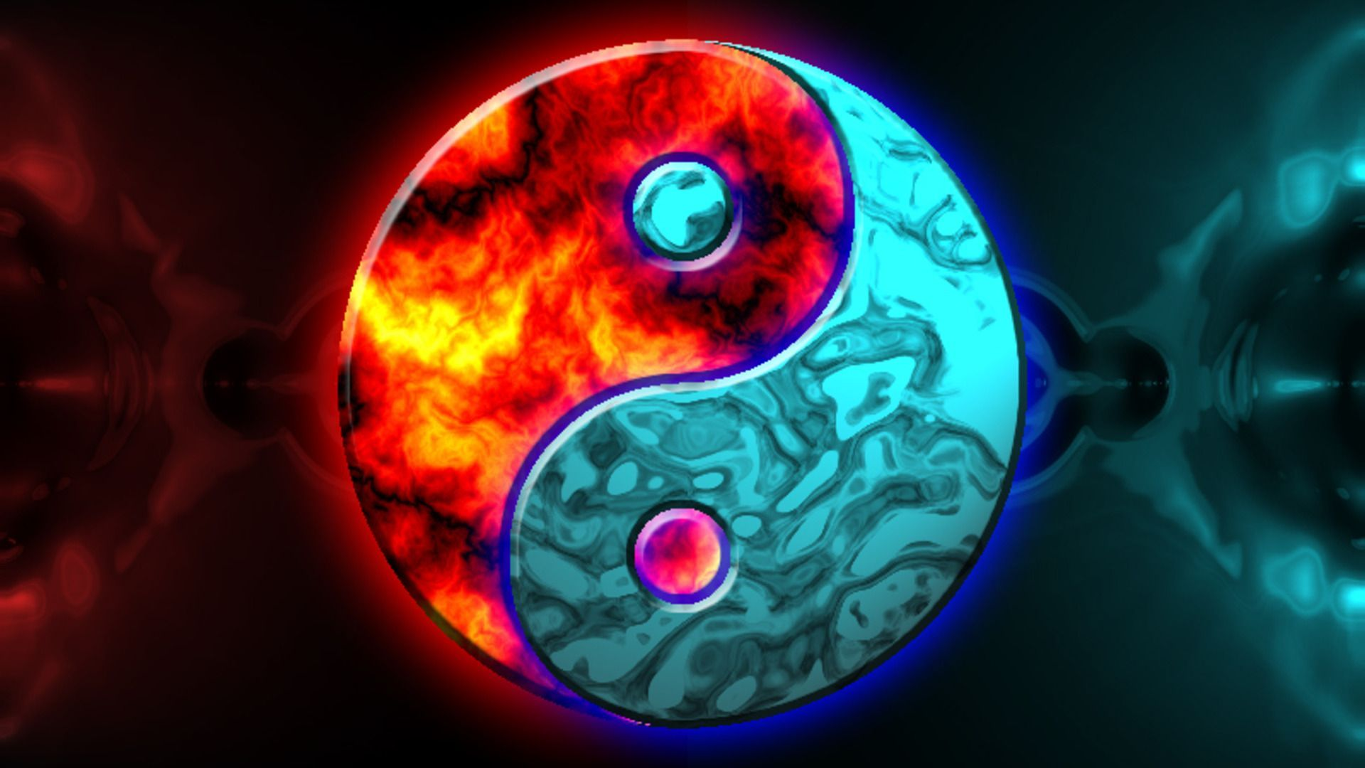 Yin Yang Wallpapers 421.09 Kb