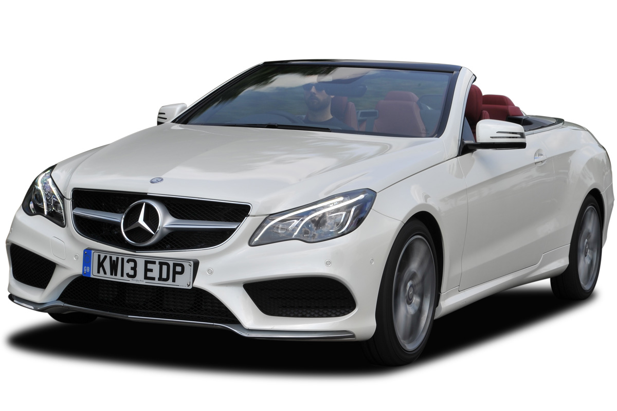 White Convertable Mercedes