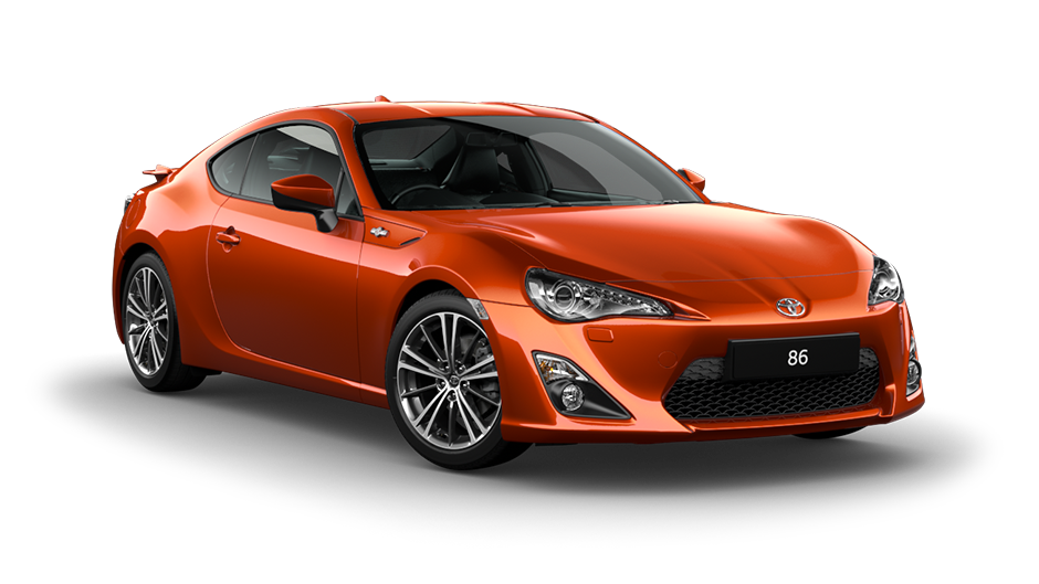 Orange Toyota GT 86
