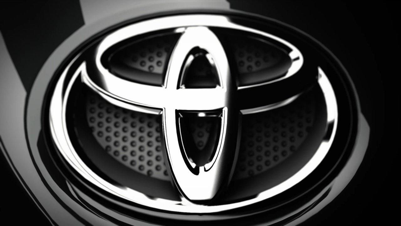 Toyota Silver Sign