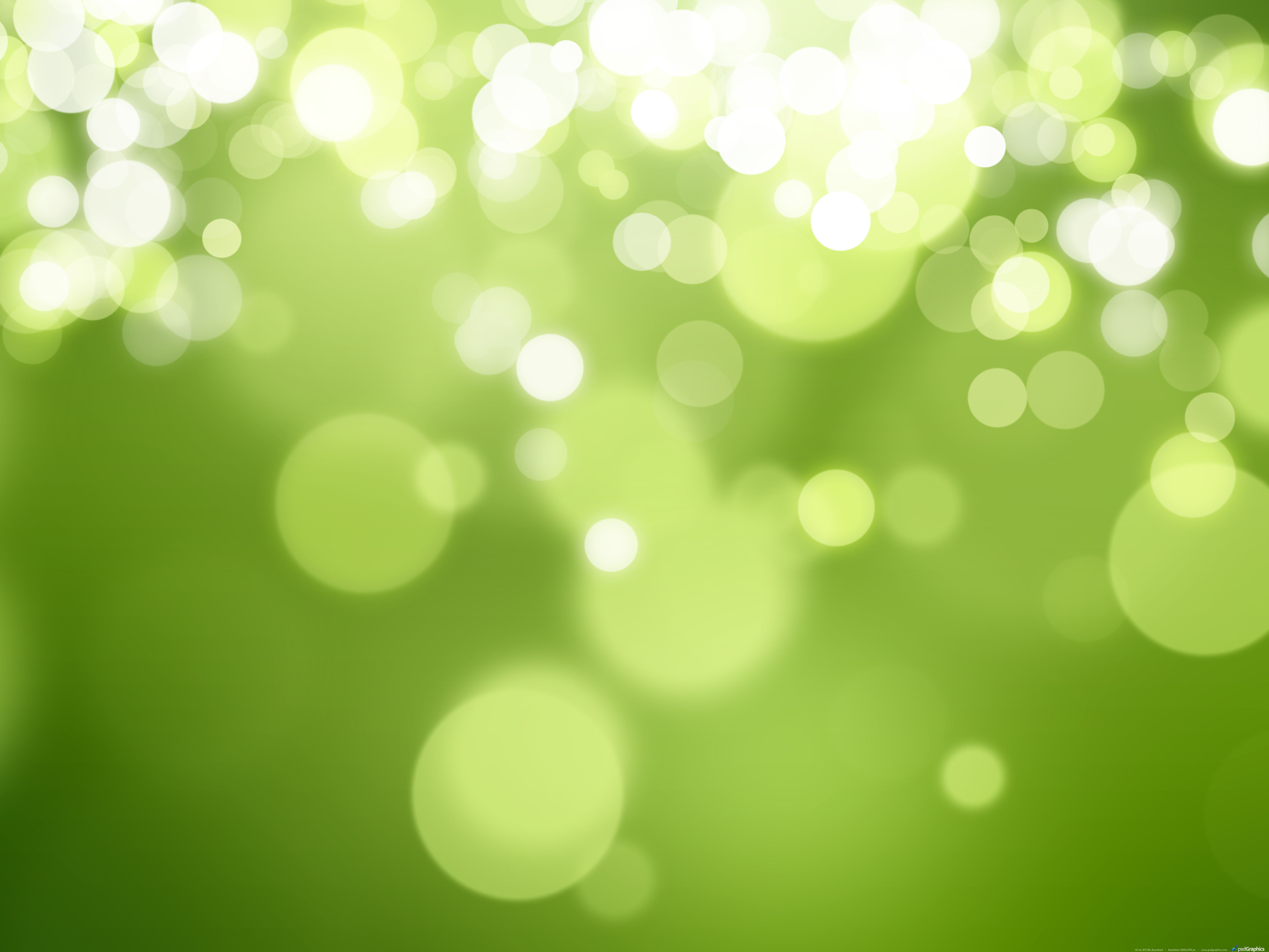 Green Gloss Nature Background