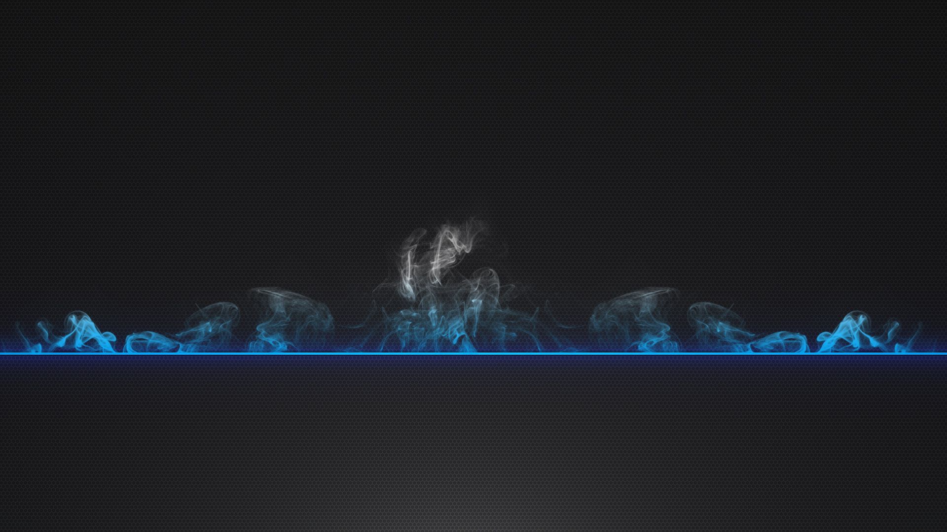 Blue Smoke Abstract Wallpapers