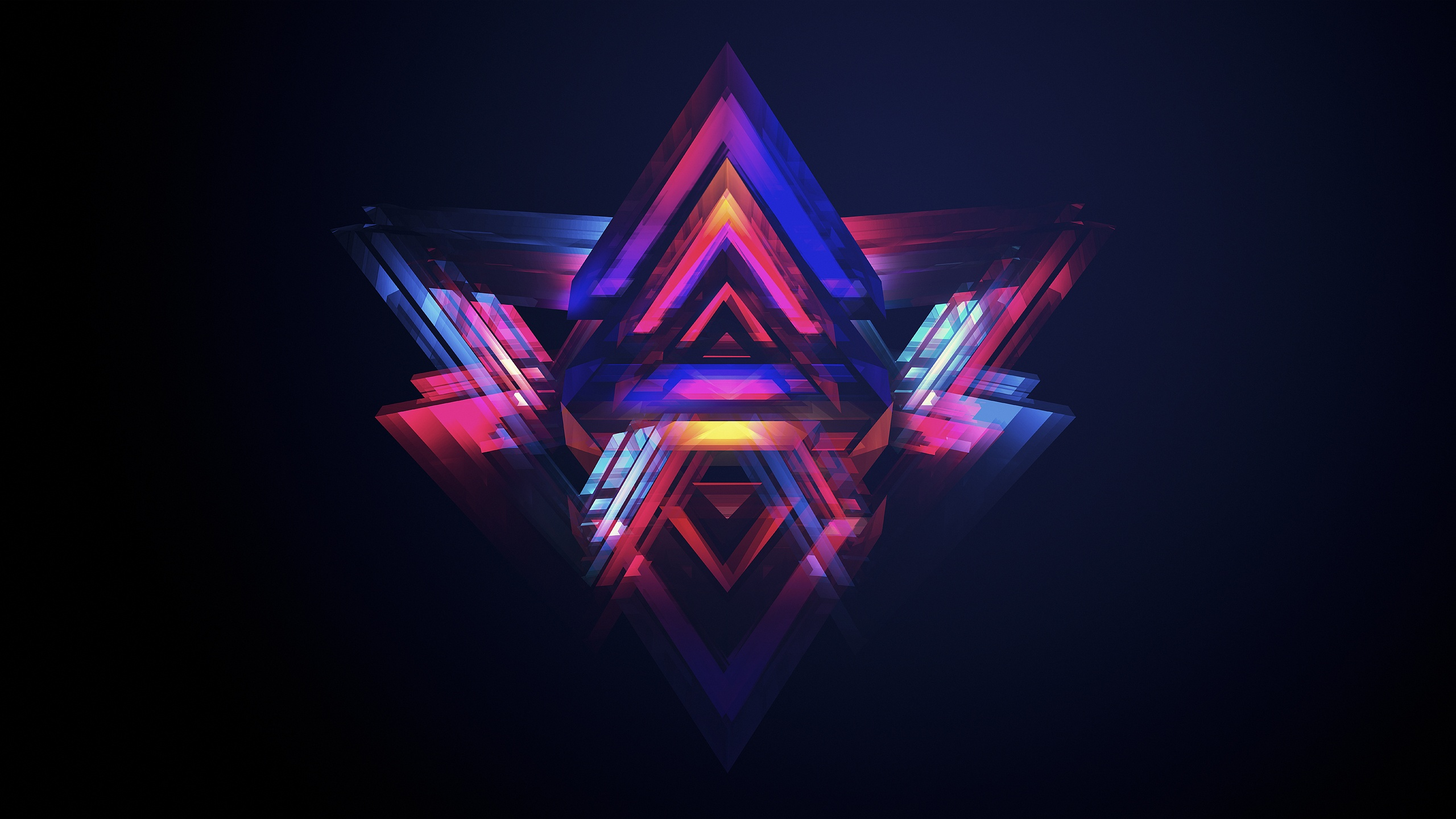 Colorful Star Abstract Wallpapers 784.21 Kb