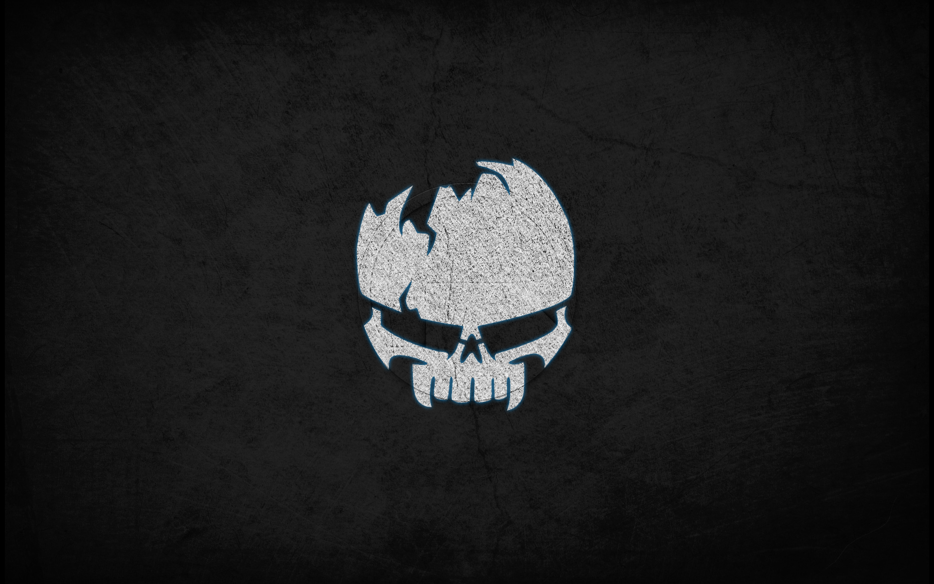 Angry Skull Wallpaper HD