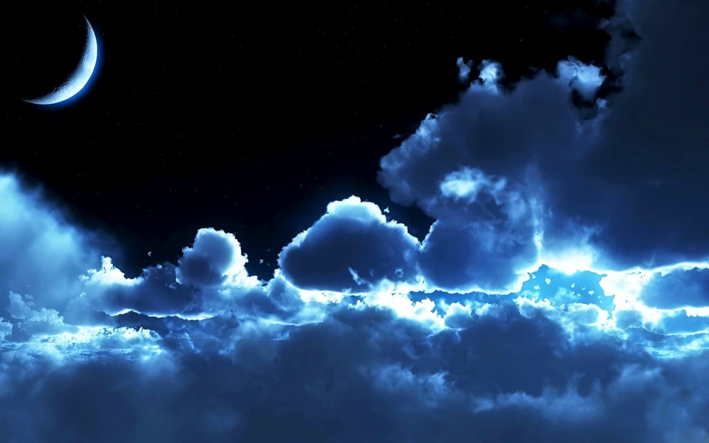 Night Sky Free Wallpaper