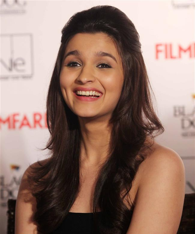 Alia Bhatt, Cheerful Smile