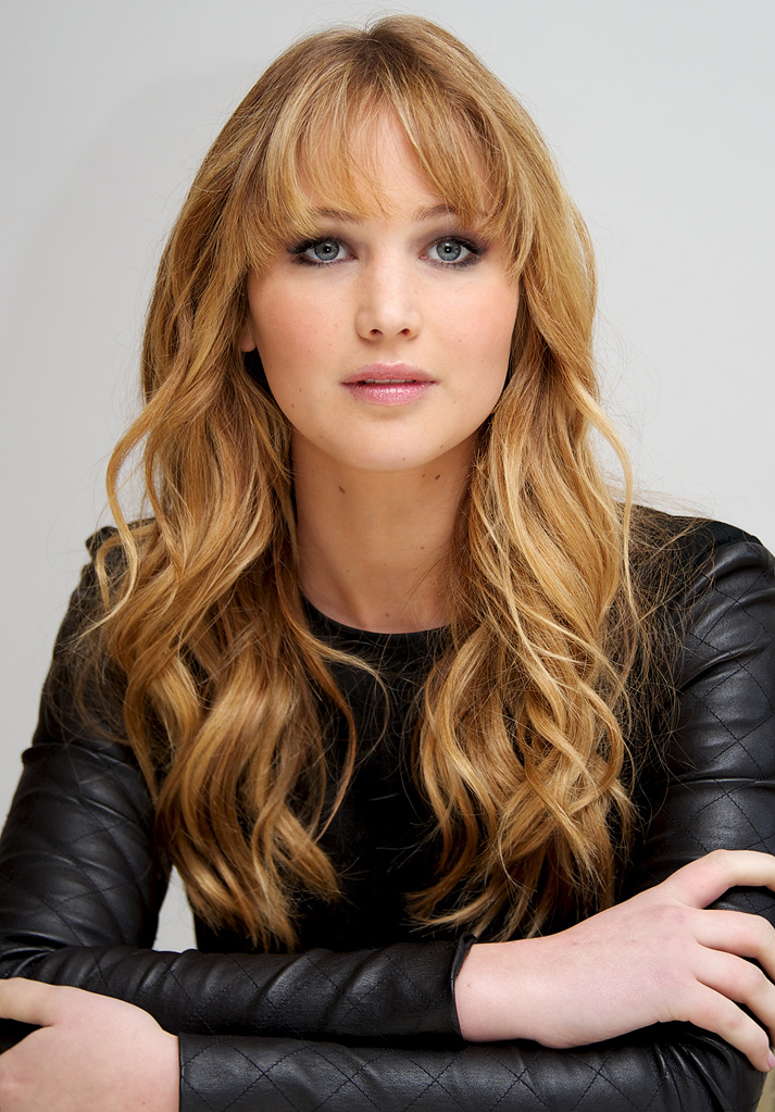 Jennifer Lawrence Curly Hairstyle 1165.17 Kb
