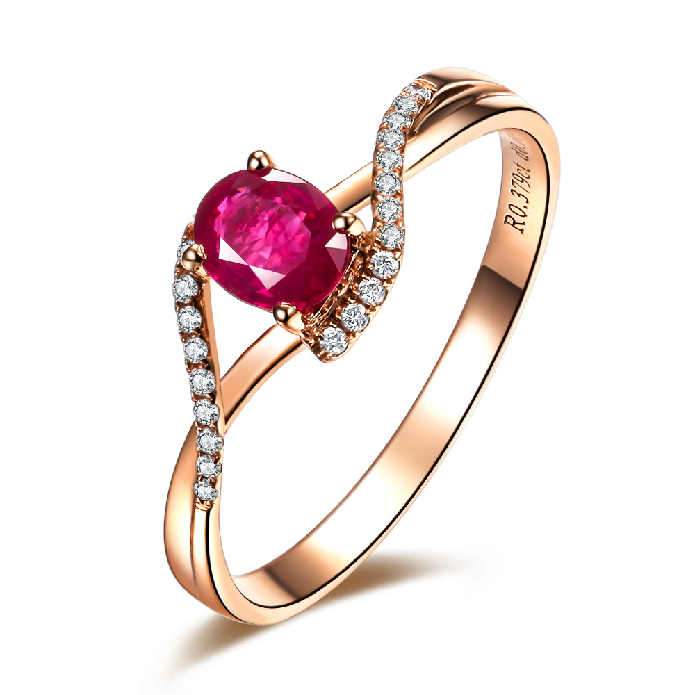 Jewelry Ring with Diamonds and Ruby 4760.82 Kb