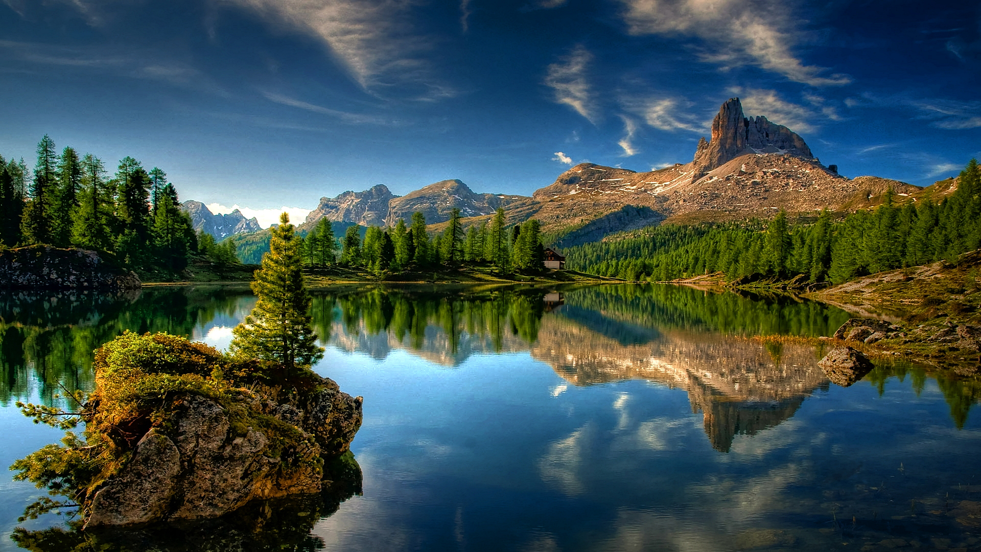 Beautiful Mountain Reflection in the Water