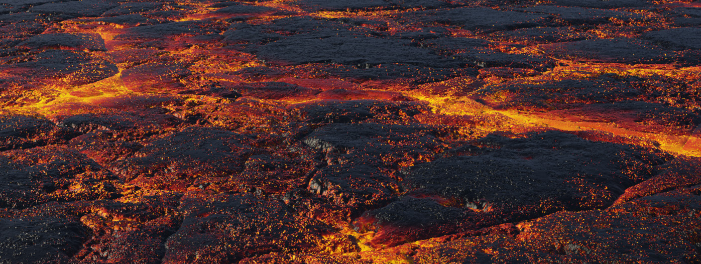 Lava Cauldron Lake