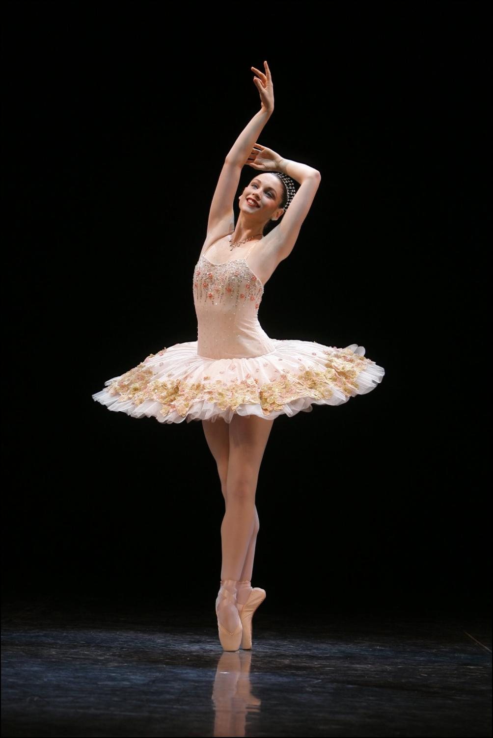 Smiling Ballet Dancer 241.66 Kb