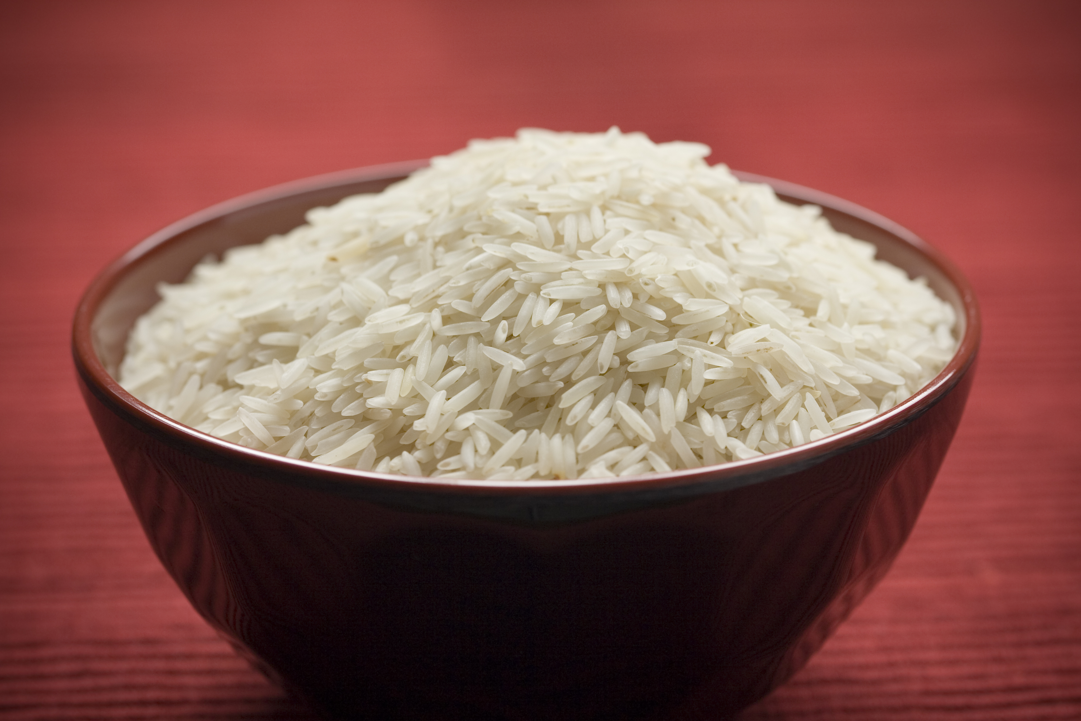 Uncooked Rice in a Red Bowl 2676.35 Kb