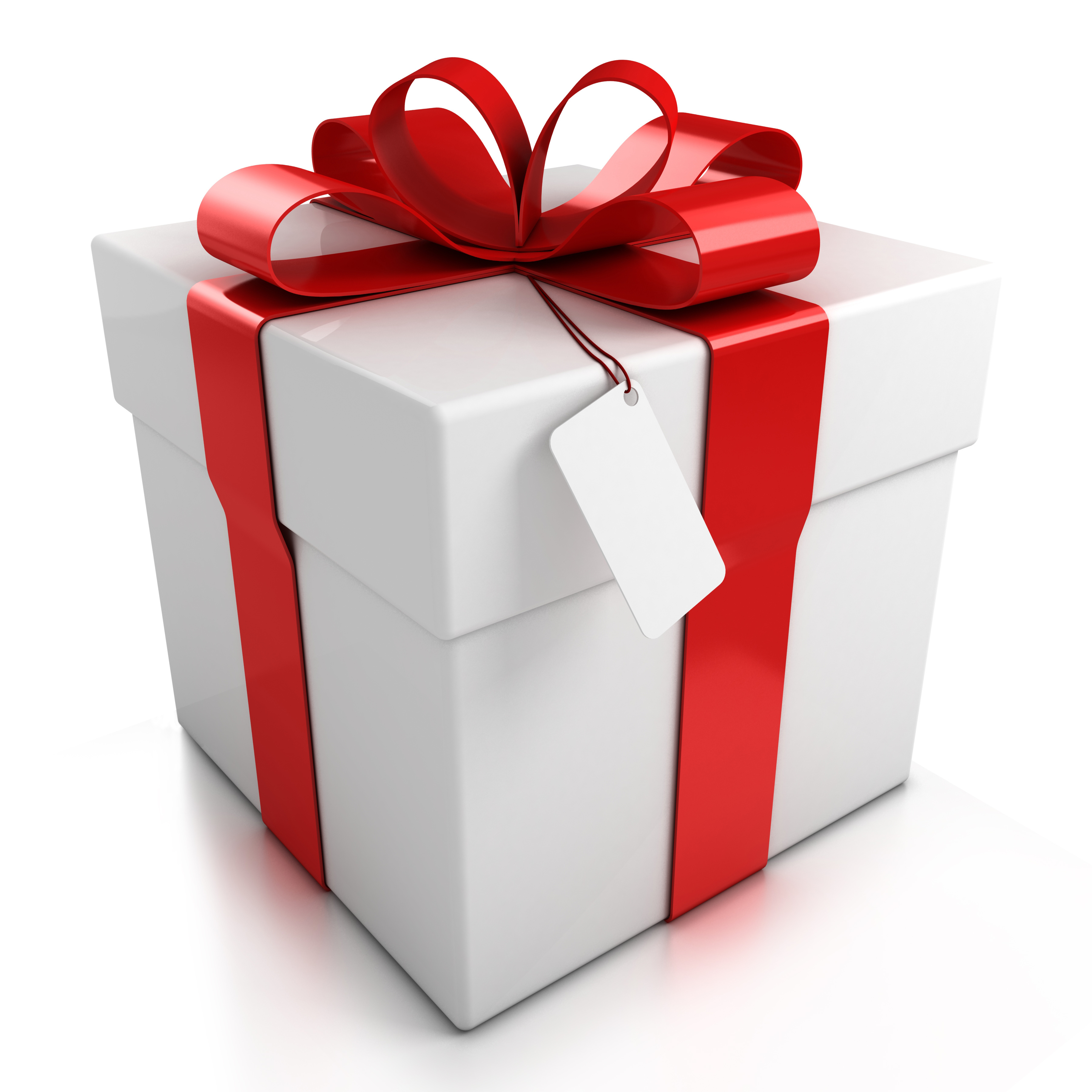 Gift in a White Box  122.87 Kb