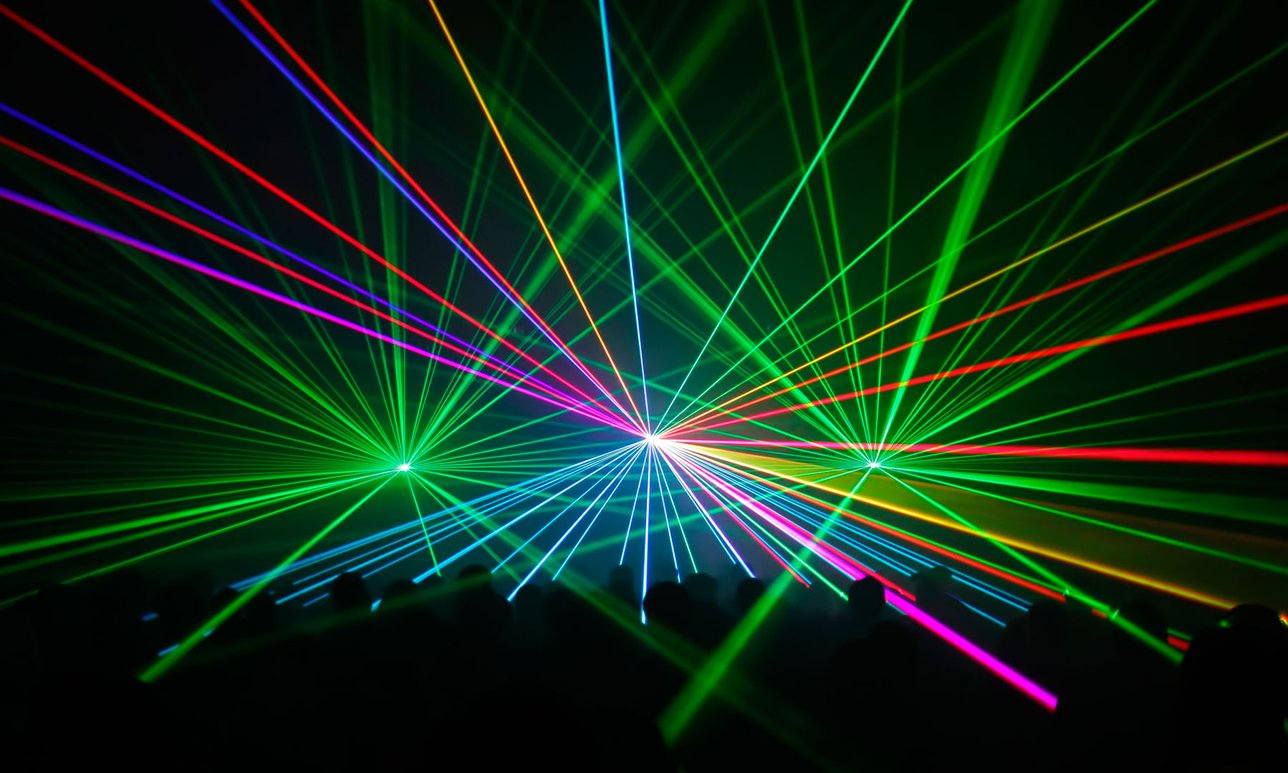 Colorful Laser Show 3719.37 Kb