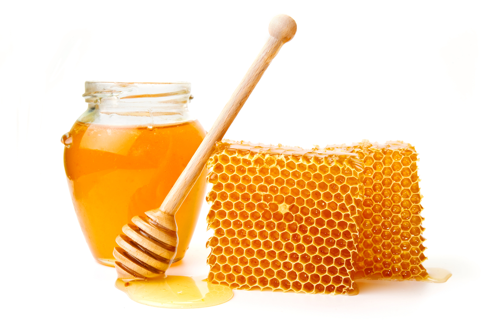 Honey Comb with Liquid Honey 58.55 Kb