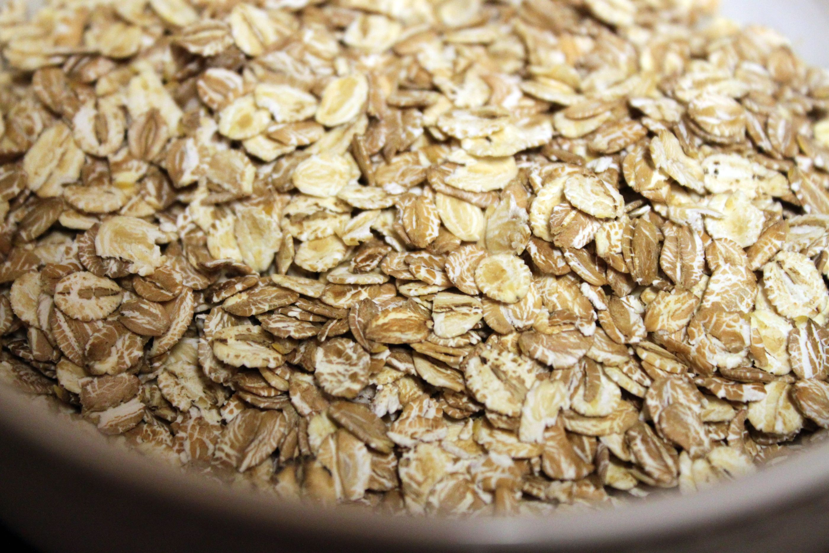 Oats Flakes in a Bowl