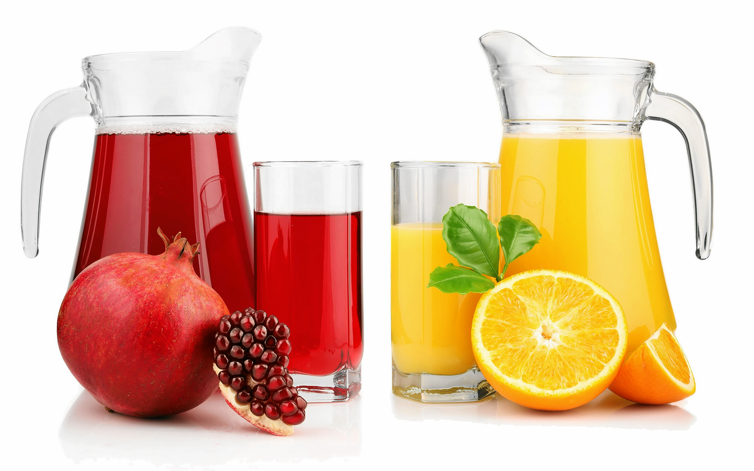 Orange and Pomegranate Juice #4240899, 2560x1600 | All For ...
