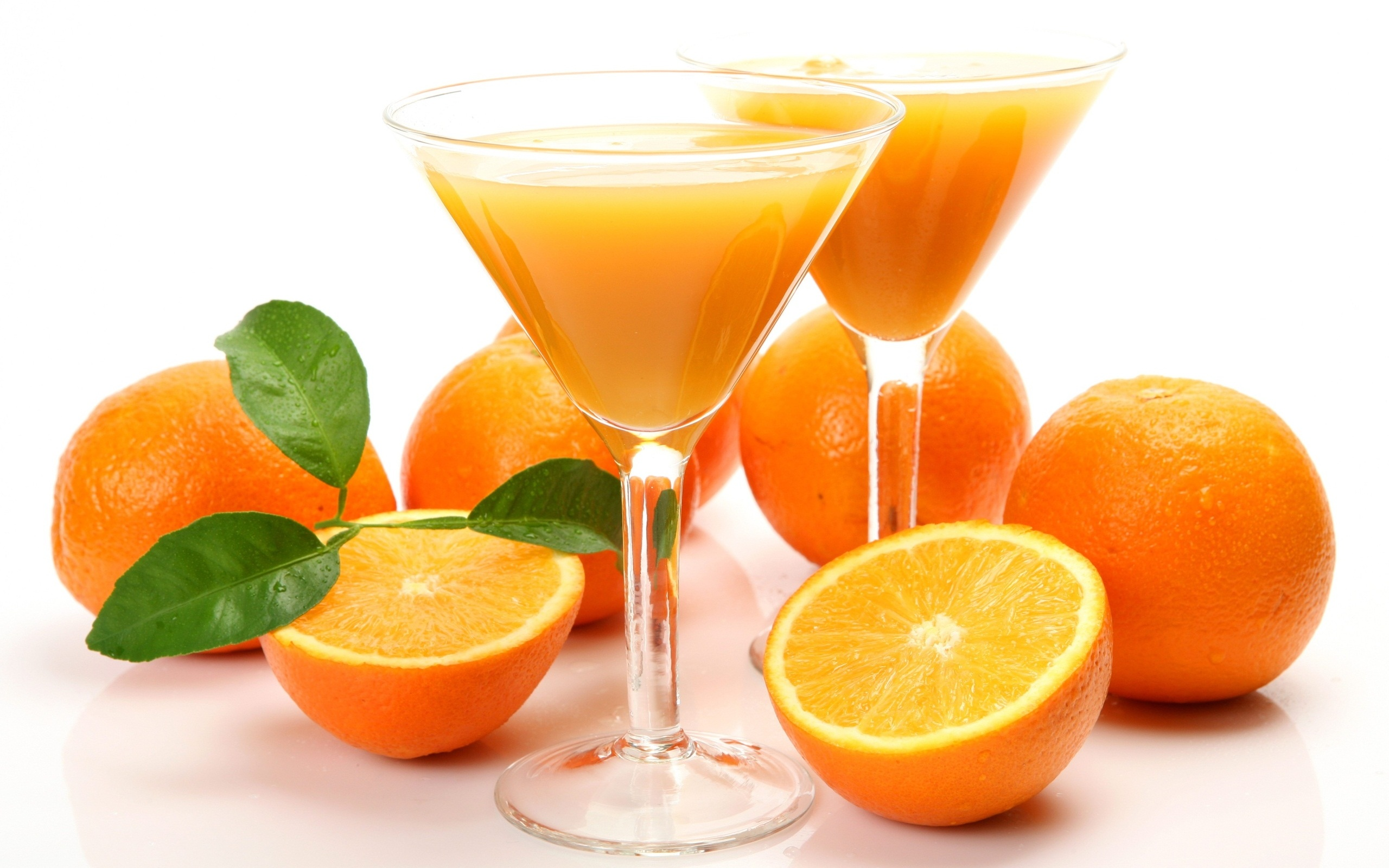 Orange Juice in Margarita Glasses 4460.89 Kb
