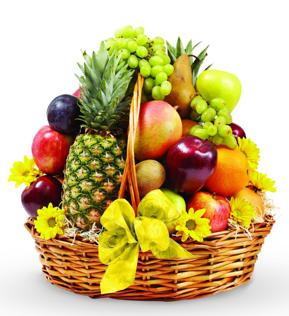 Summer Fruit Basket 2968.37 Kb