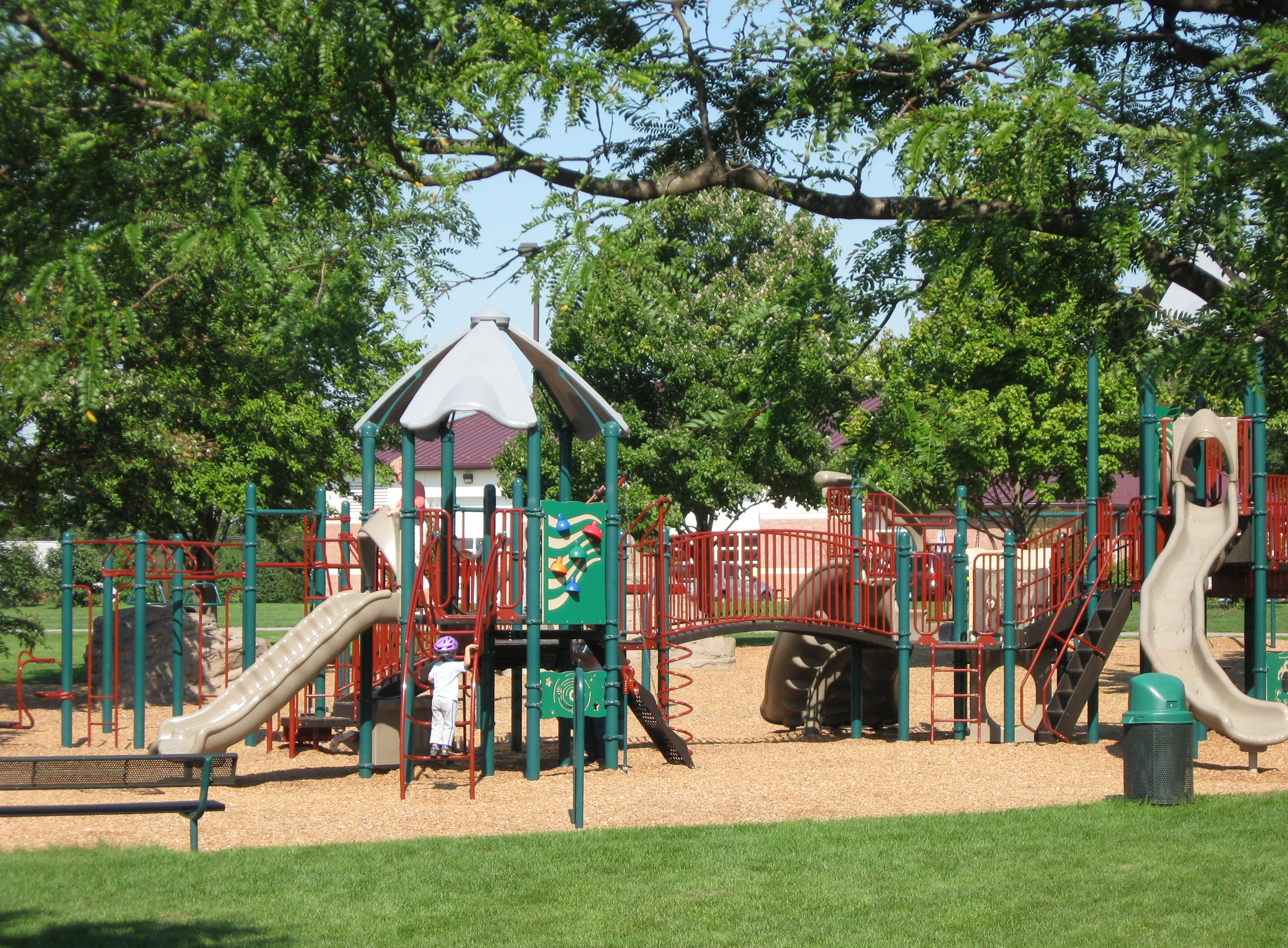 Playground for Childrean in a Park 184.1 Kb