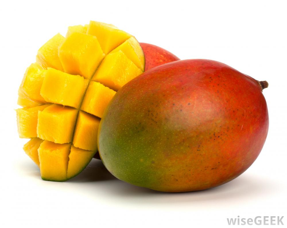 Mango Cut in Cubes 106.41 Kb