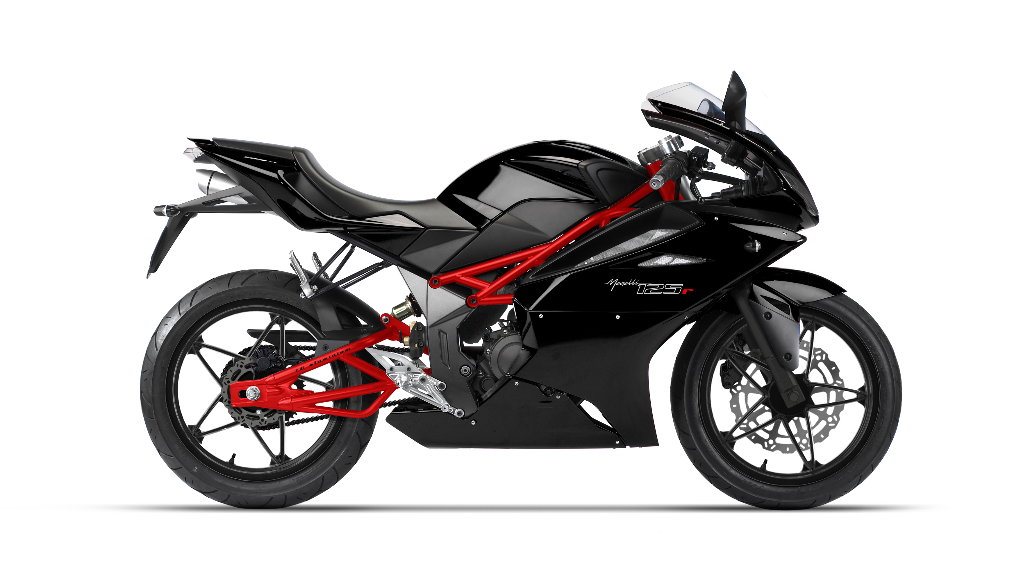 Black and Red Motorcycle Minsk R250 813.62 Kb