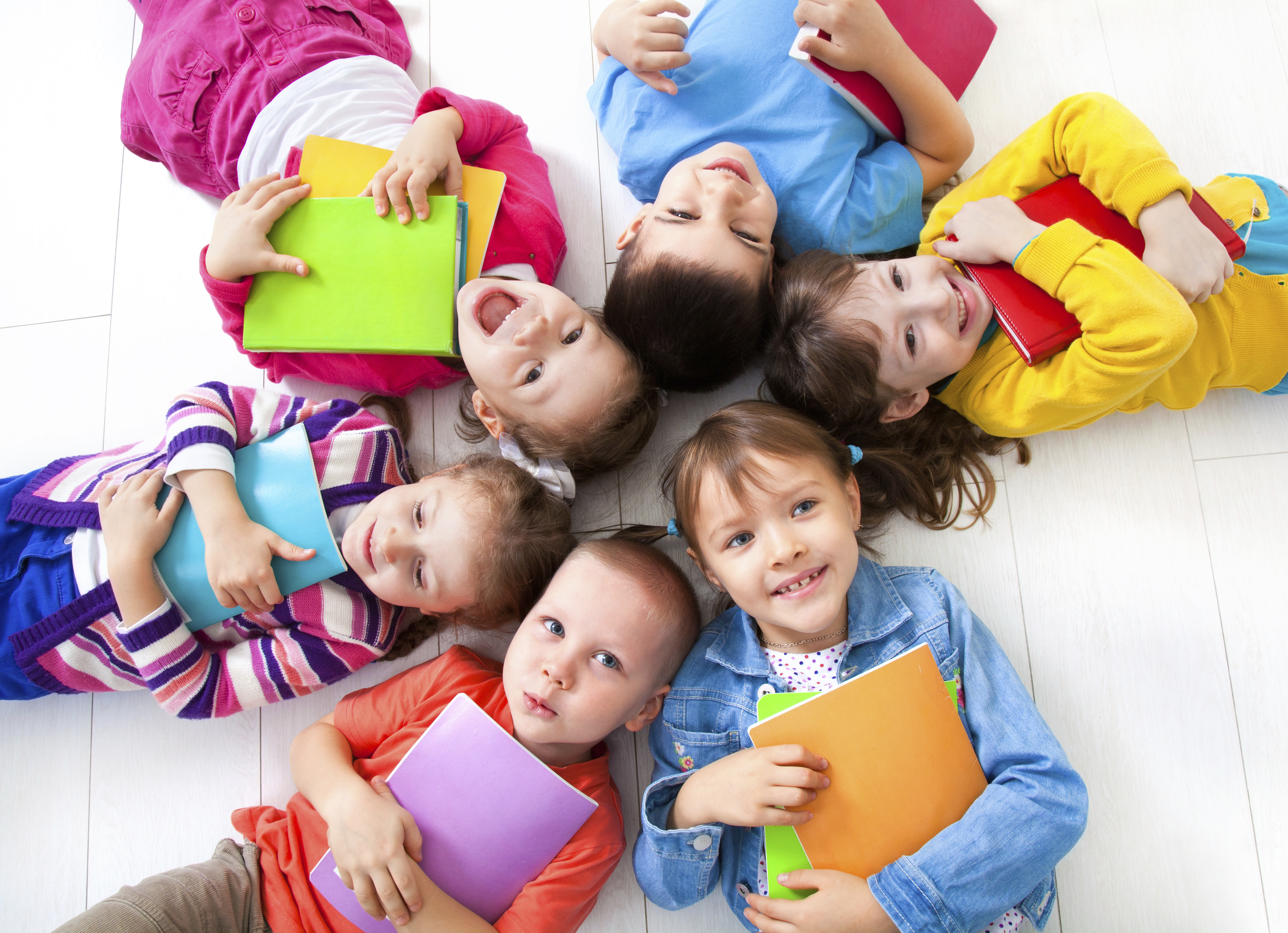 Children, Happy to Study