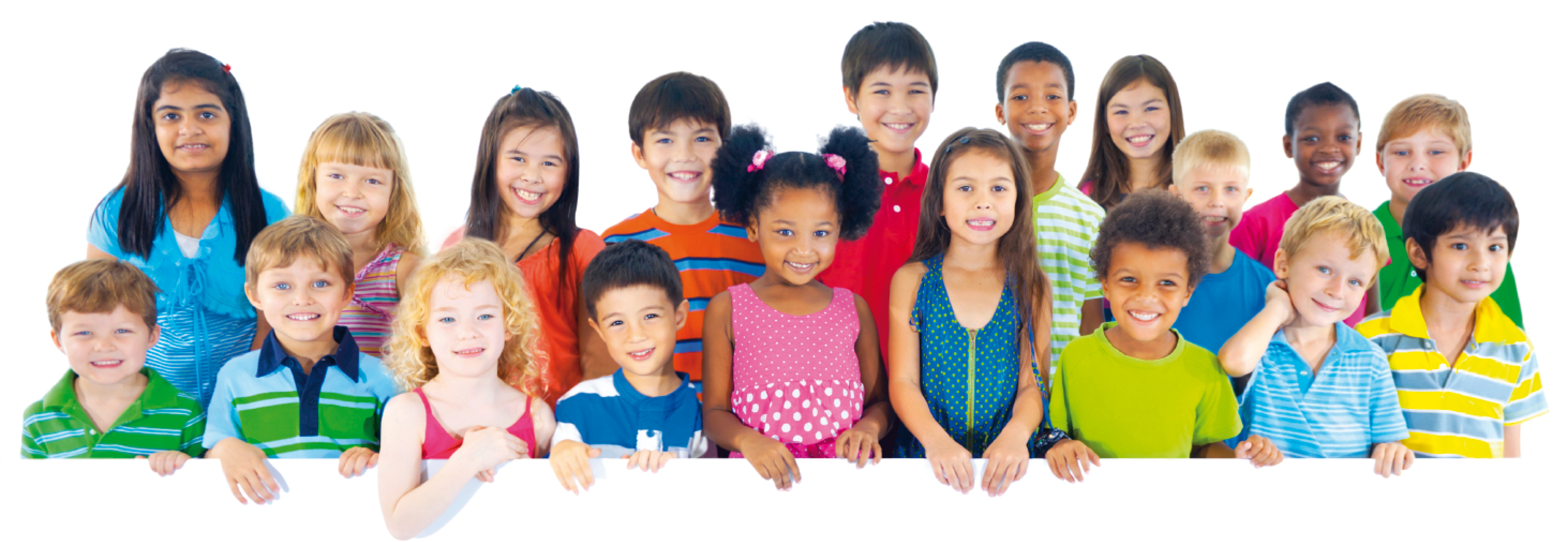 Group of Children of Different Nationalities 742.79 Kb