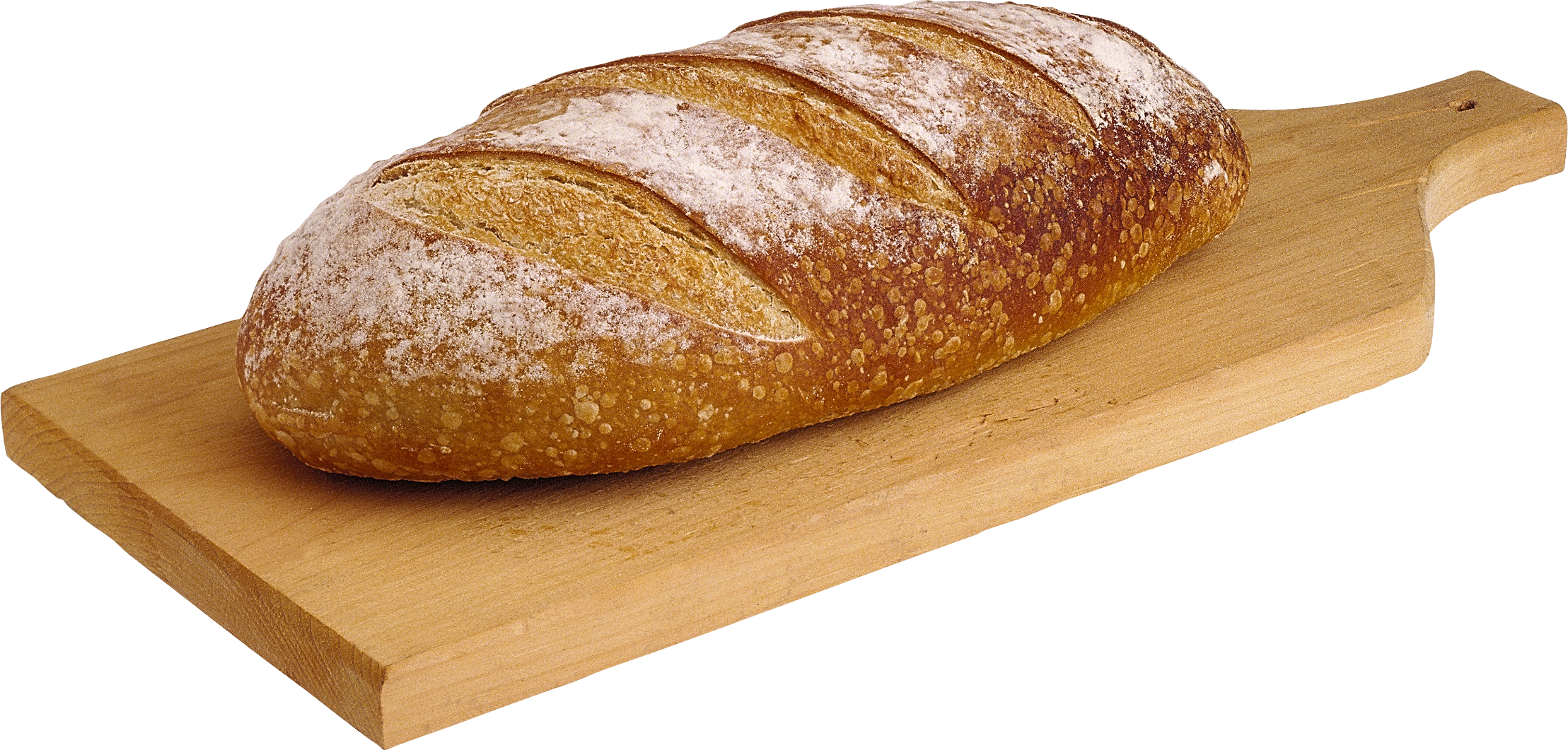 French Bread on a Cutting Board 127.65 Kb