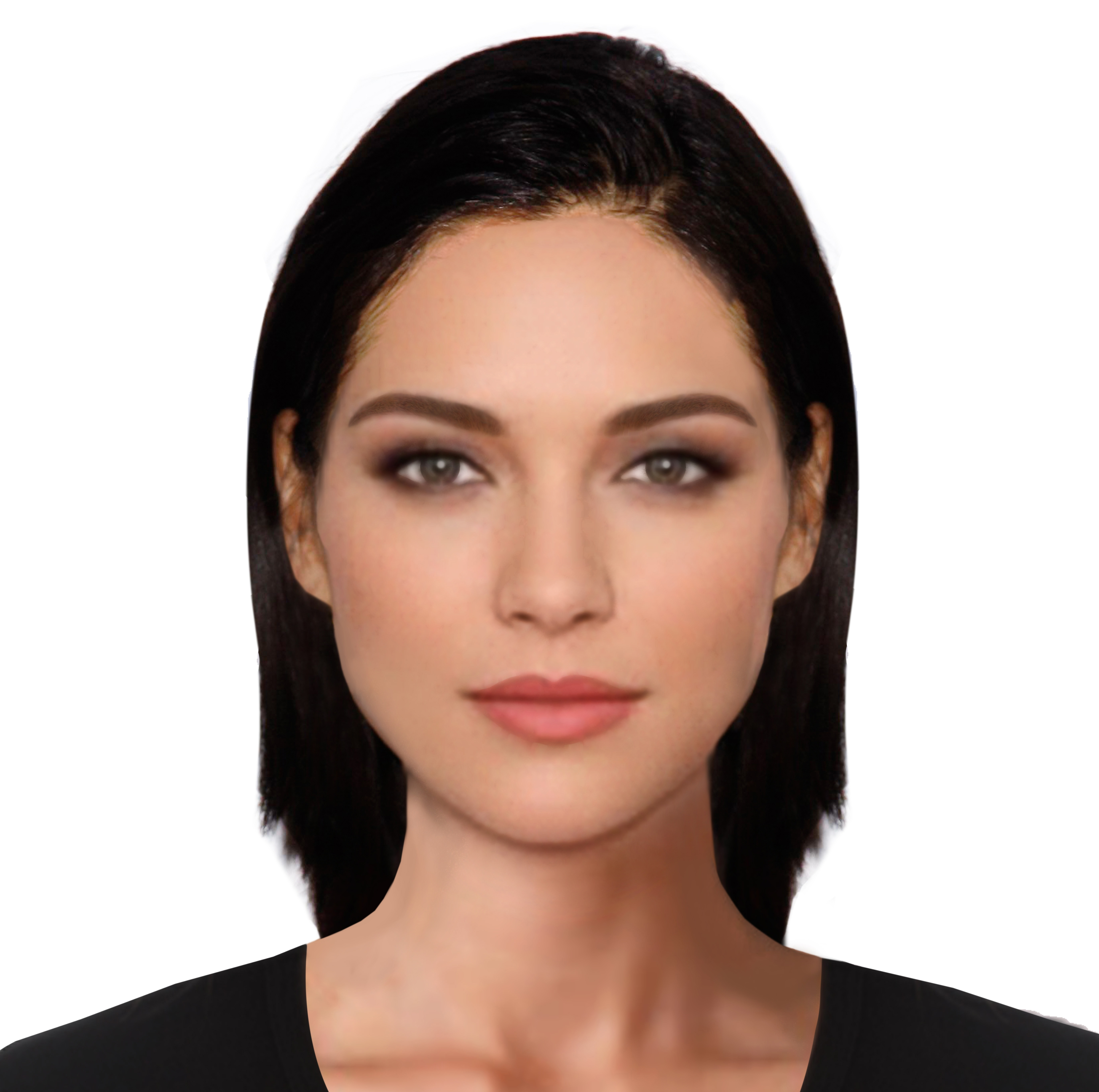 Female Face in a Game Simulator