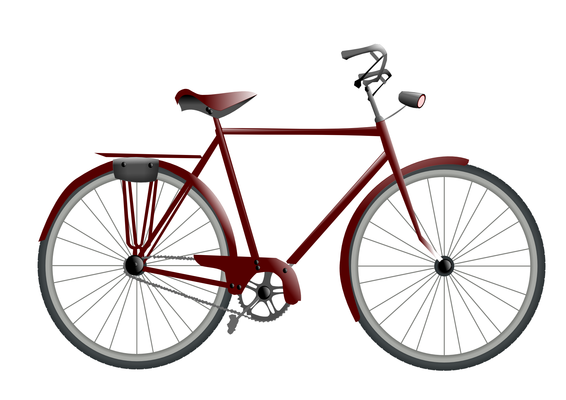Drawn Bicycle Design
