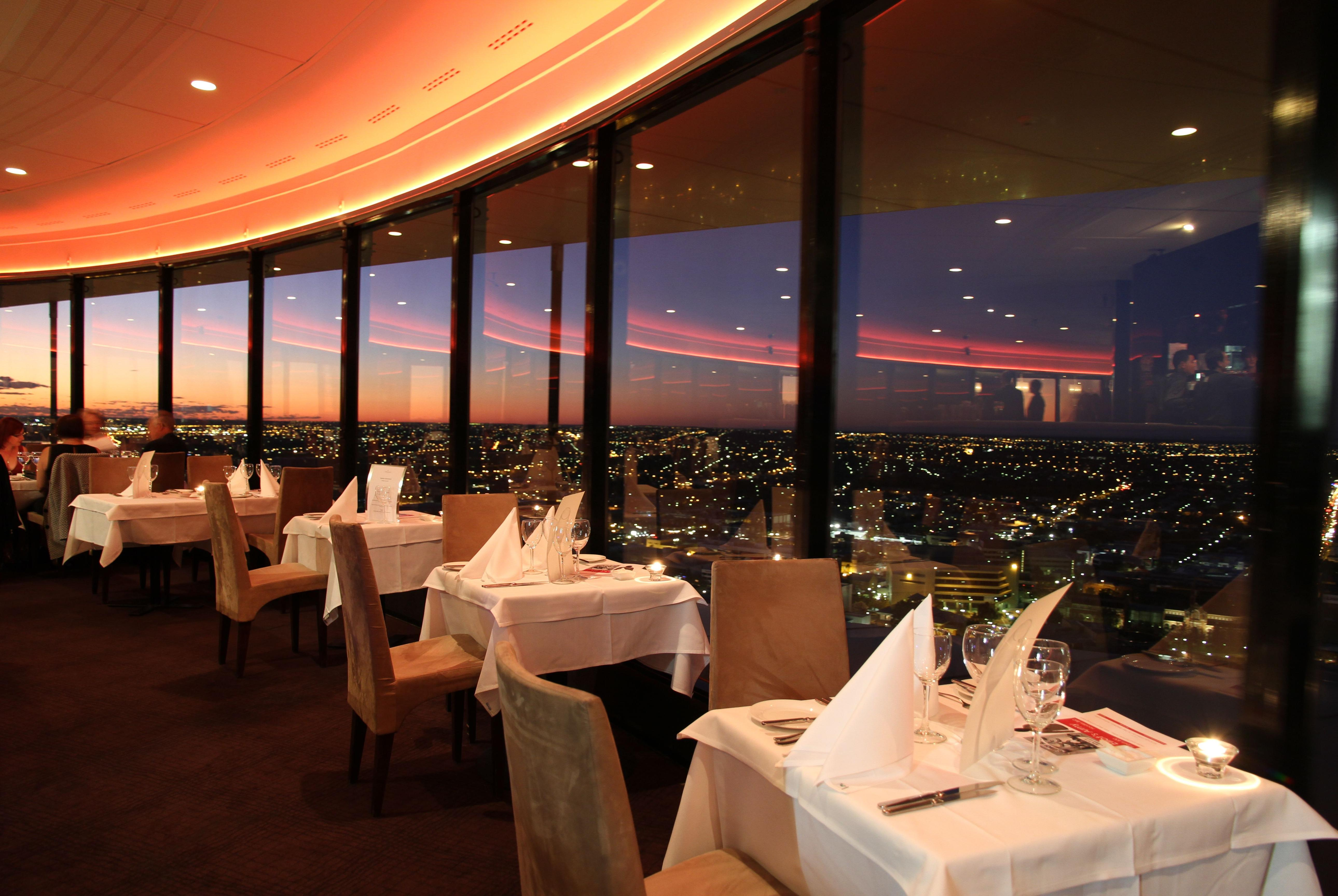Restaurant with Nice Panorama of the City 708.59 Kb