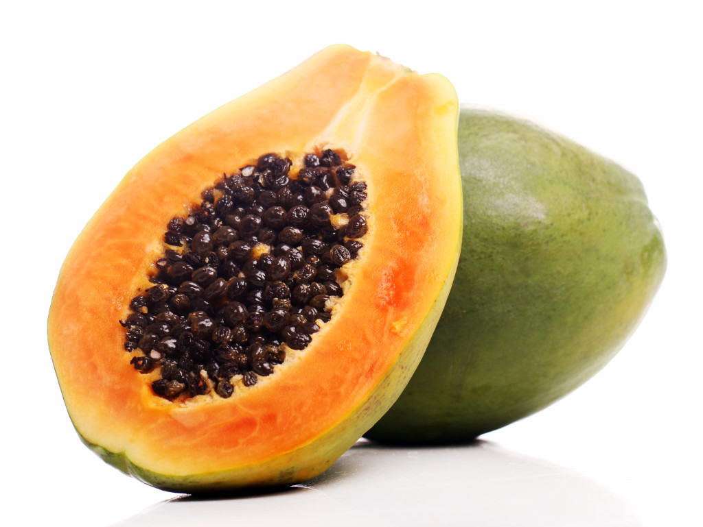 Tropical Papaya Fruit 264.28 Kb