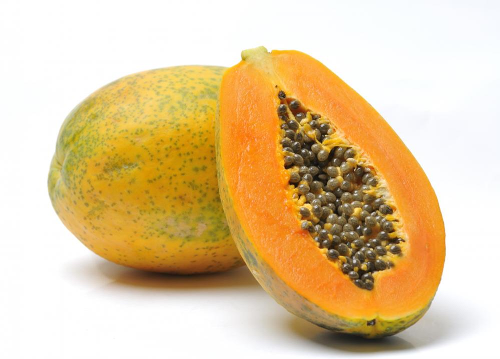 Papaya Cross Section