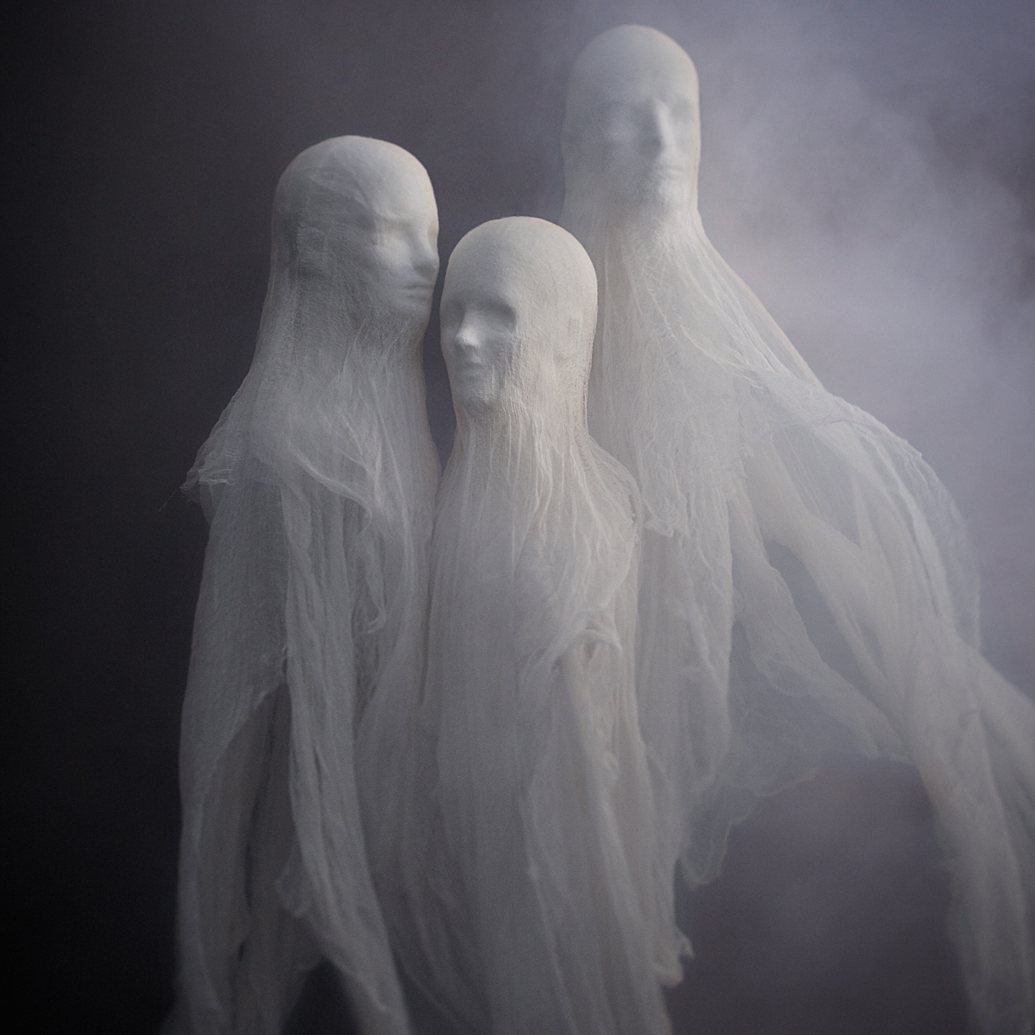 Sinister Ghost Sculptures