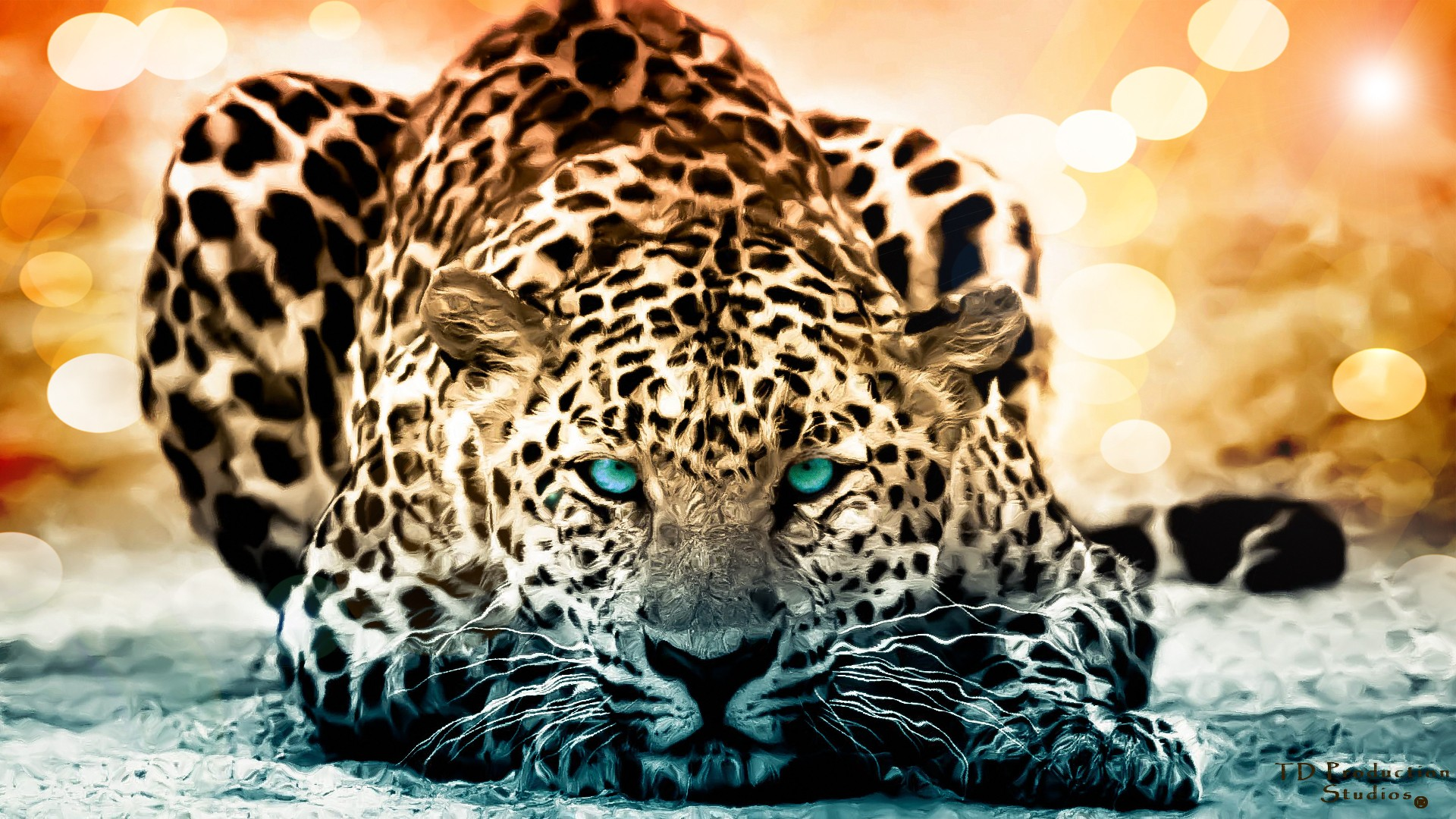 Jaguar Blue Eyes 3694.72 Kb