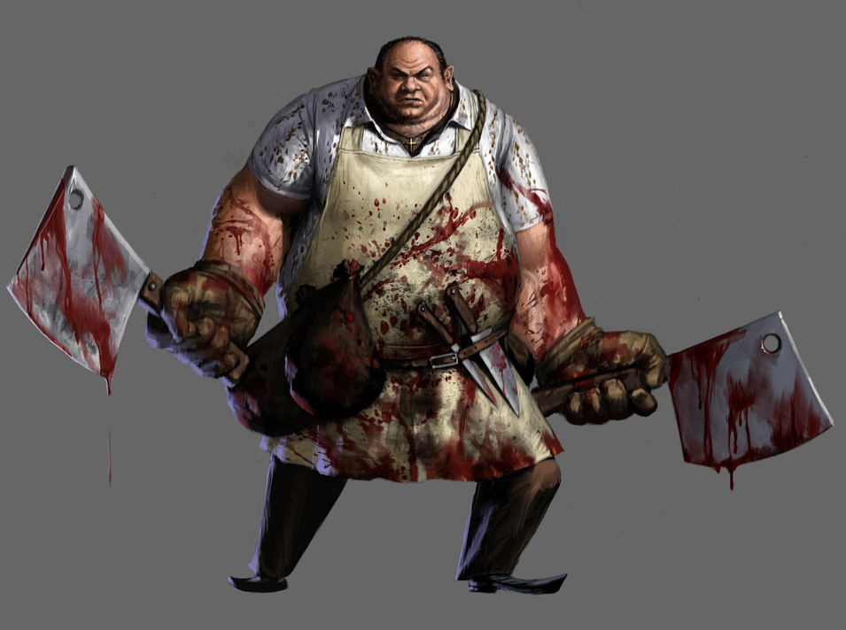 Bloody Butcher Character from the Game 741.2 Kb