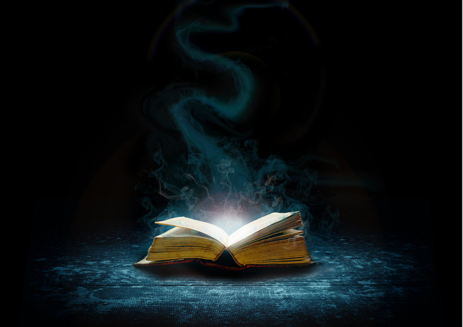 Magic Spells in a Book