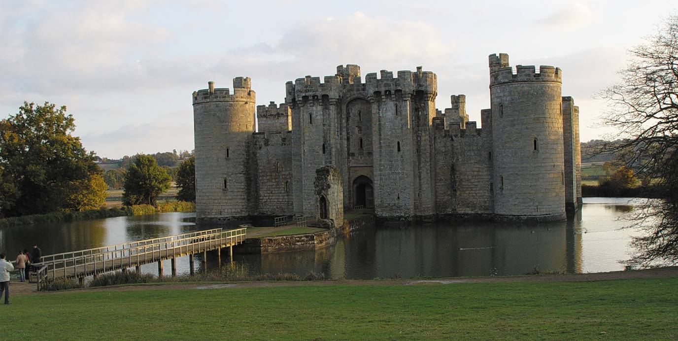 Bodiam Castle on the Water