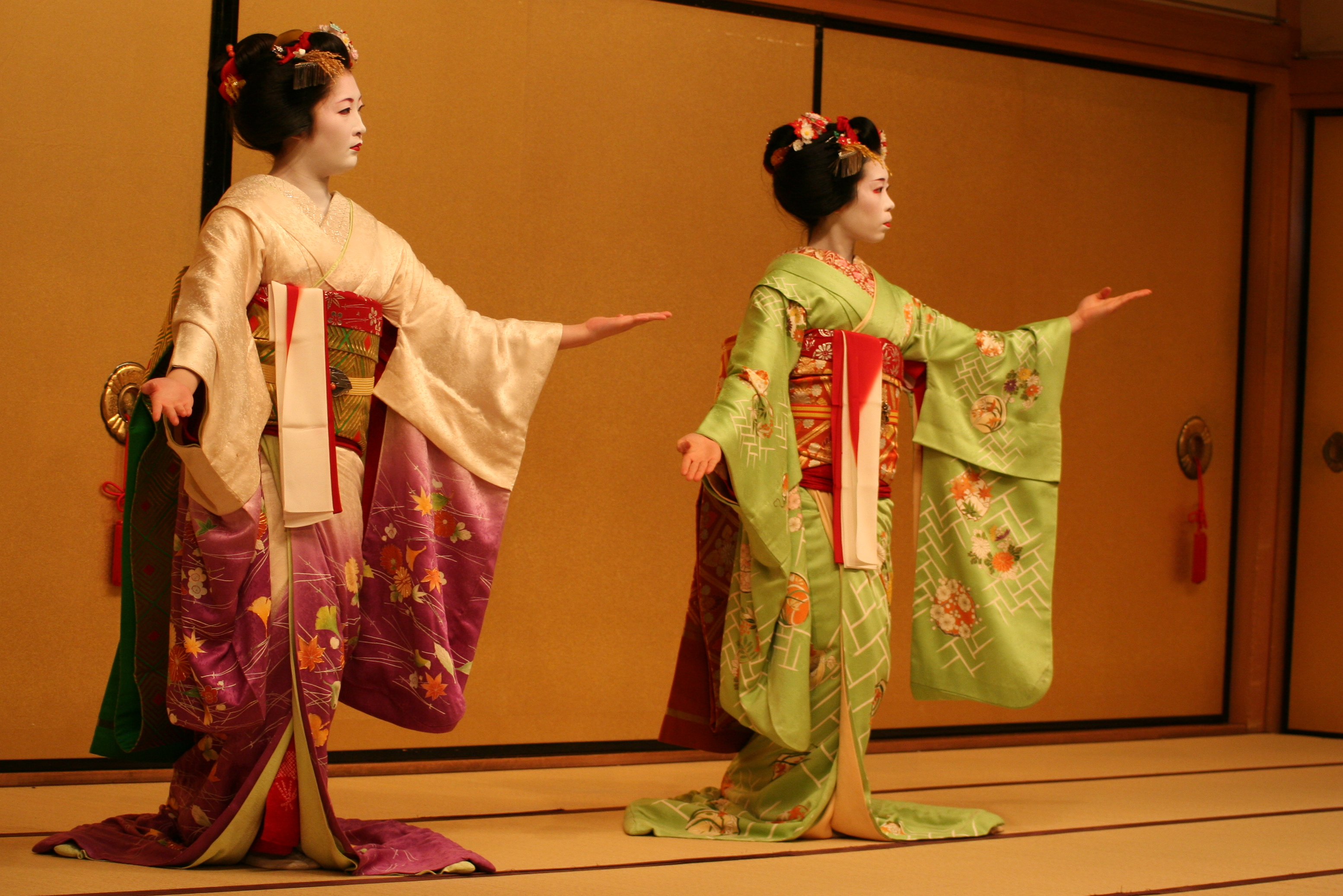 Geisha Traditional Japanese Hostesses  707.25 Kb