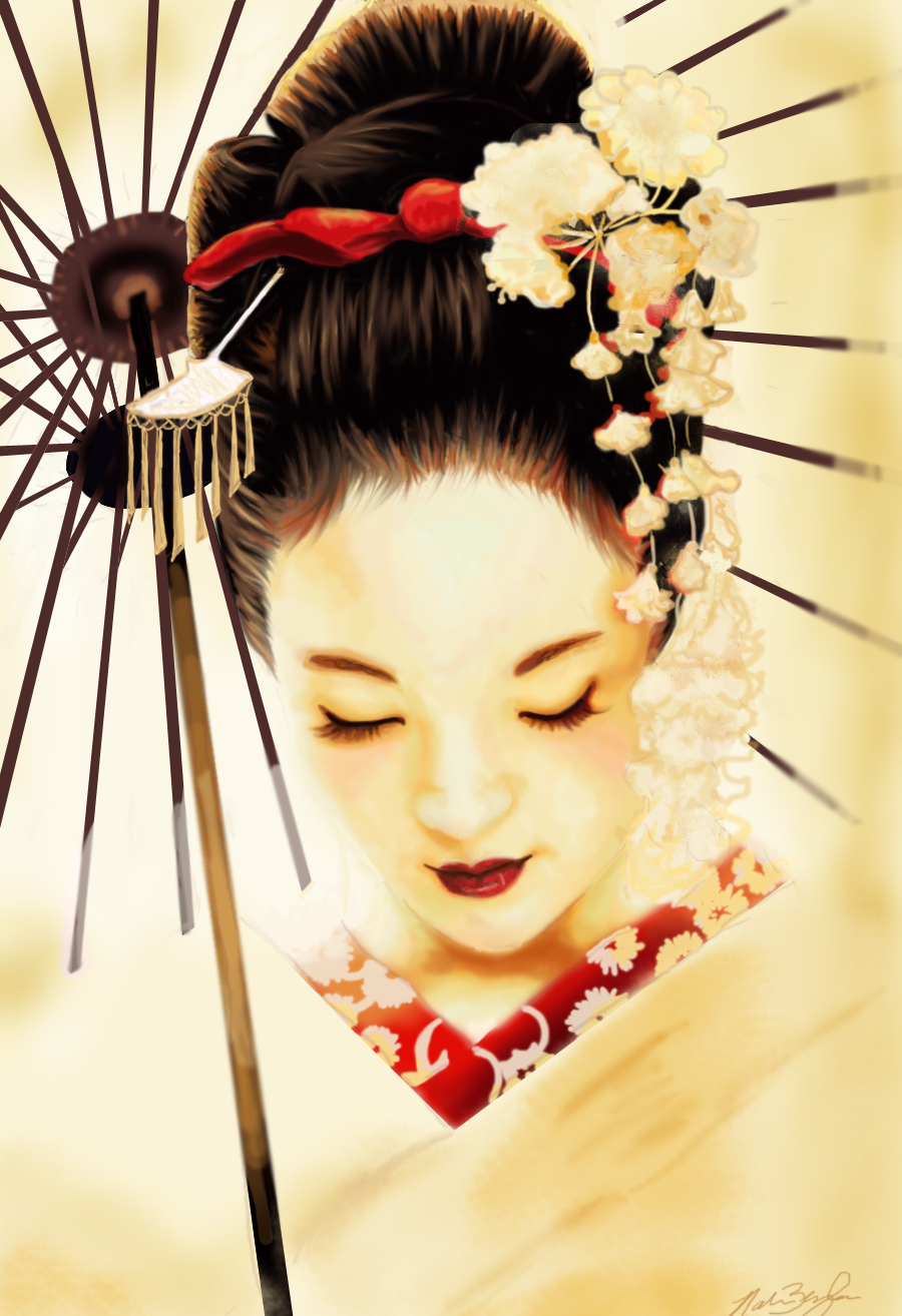 Geisha Traditional Look 707.25 Kb