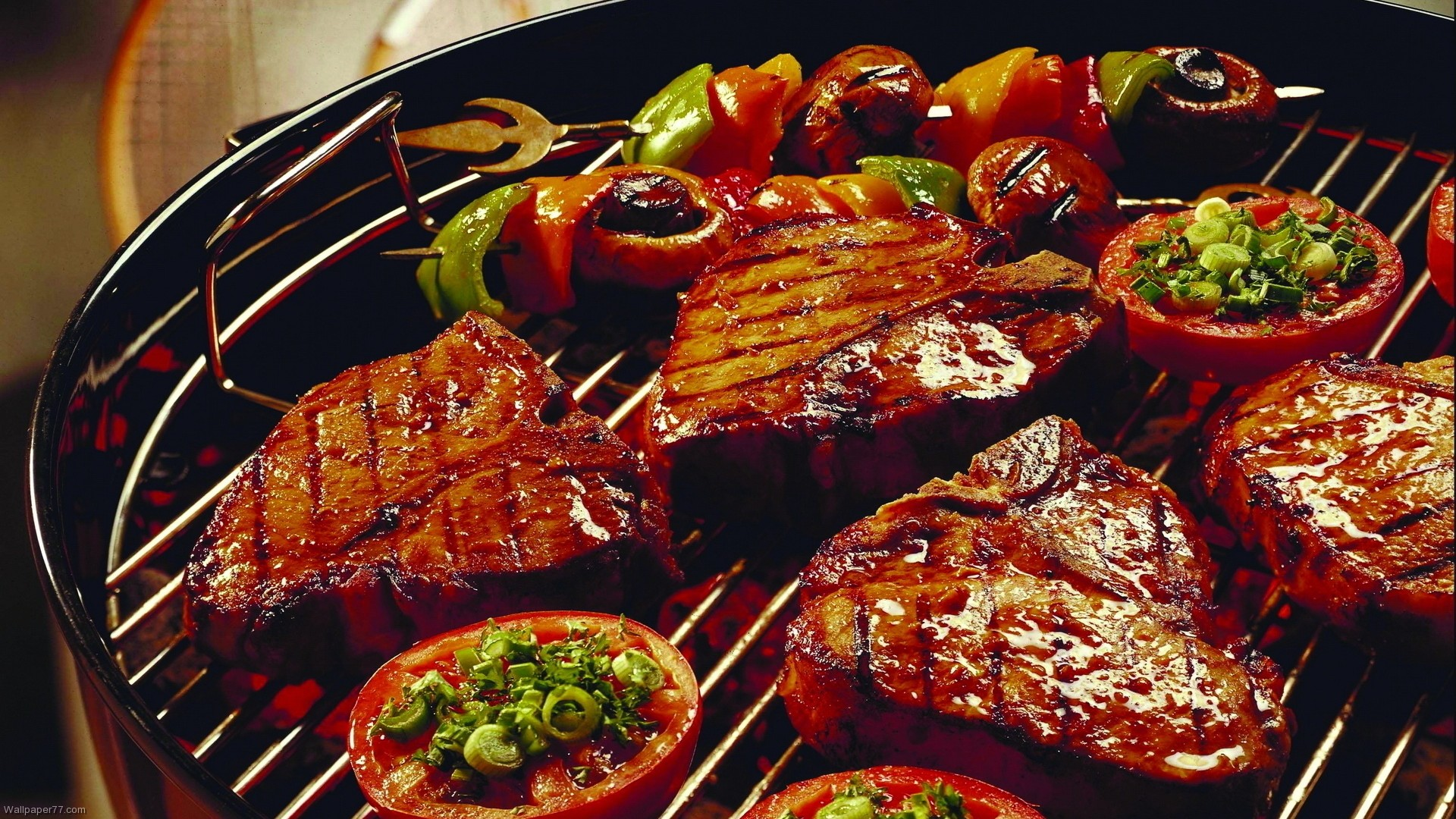 Grilled delicious food 4244814 1920x1080 all for desktop for Cuisine wallpaper